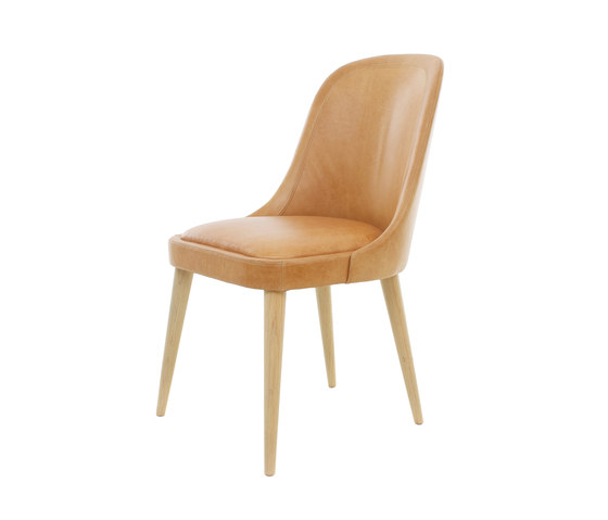 Laval Leather Chair de Stellar Works | Chaises