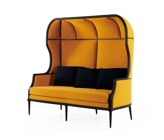 Laval Crown Chair Two seater de Stellar Works | Canapés d'attente