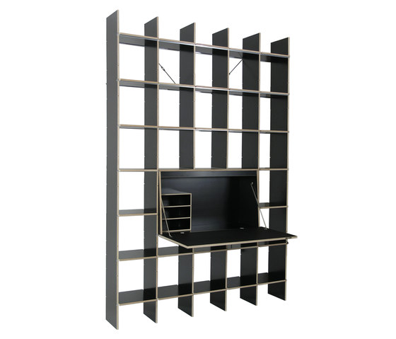 fnp von moormann archivregal x sekret r table. Black Bedroom Furniture Sets. Home Design Ideas