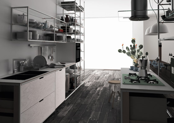Meccanica Demode 2 by Valcucine | Fitted kitchens