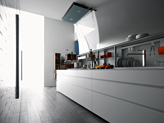 New Logica System Isola by Valcucine | Fitted kitchens