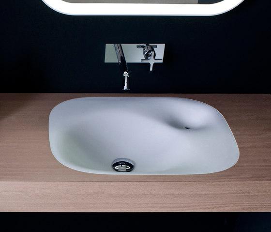 Flat XL Nivis by Agape | Wash basins
