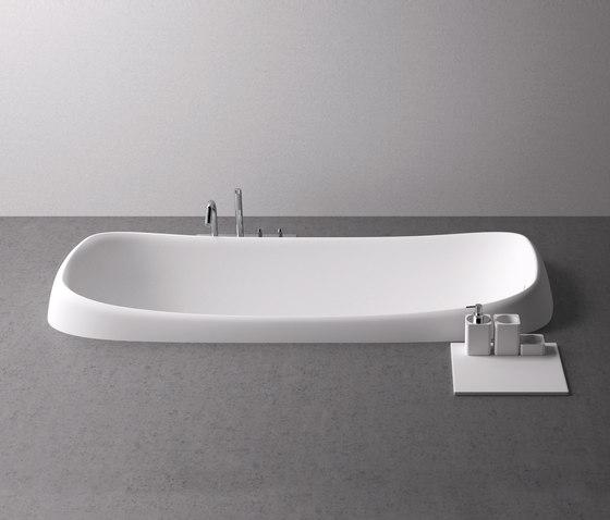 Pear Incasso by Agape | Built-in bathtubs