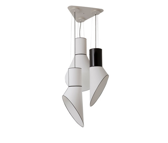 Cargo Chandelier large by designheure | Ceiling suspended chandeliers
