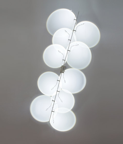 Wa Wa Parete/Soffitto 8/10 LED by Catellani & Smith | General lighting