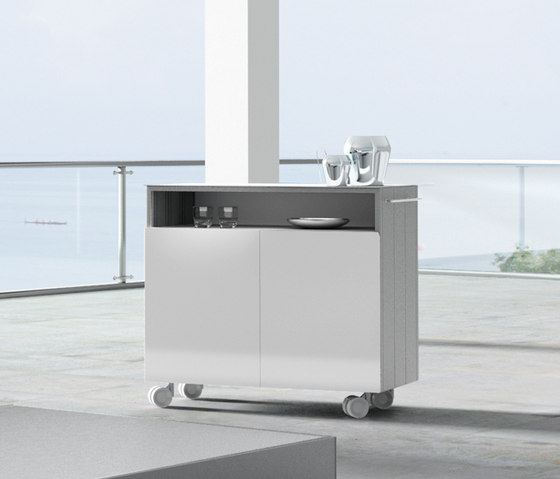 CUbox Cod. 09022 by do+ce | Tea-trolleys / Bar-trolleys