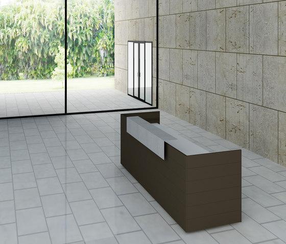 CUbox Cod. 10019 by do+ce   Reception desks