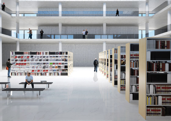 CUbox Cod. 12500 by do+ce | Library shelving systems