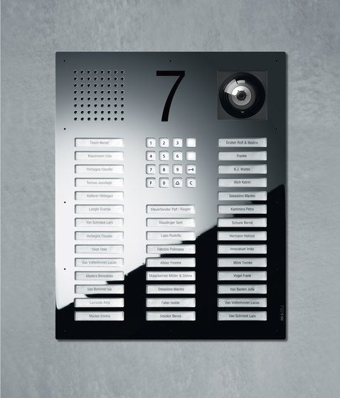Siedle Classic video intercom unit de Siedle | Stations de porte