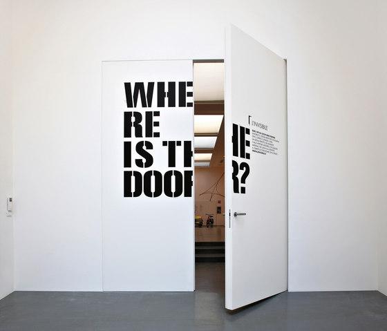 L invisibile porte pivotante filo 10 de - L invisibile porte ...