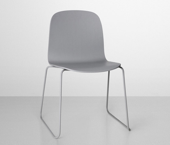 Visu Chair | sled base by Muuto | Multipurpose chairs