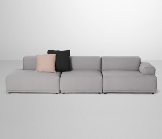 Connect Sofa | 3-seater open de Muuto | Canapés d'attente