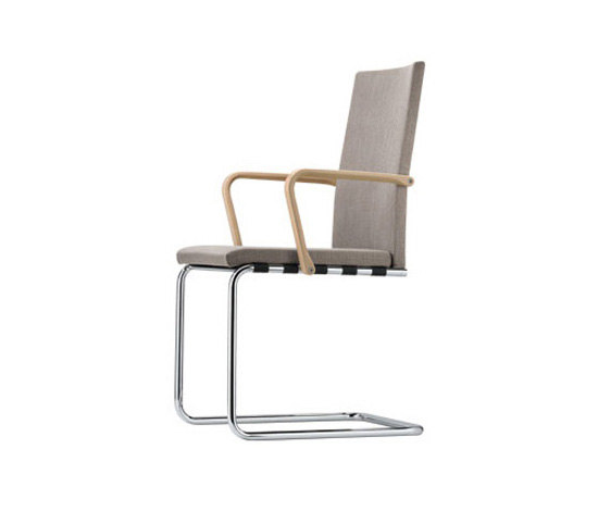 S 71 F by Gebrüder T 1819 | Visitors chairs / Side chairs