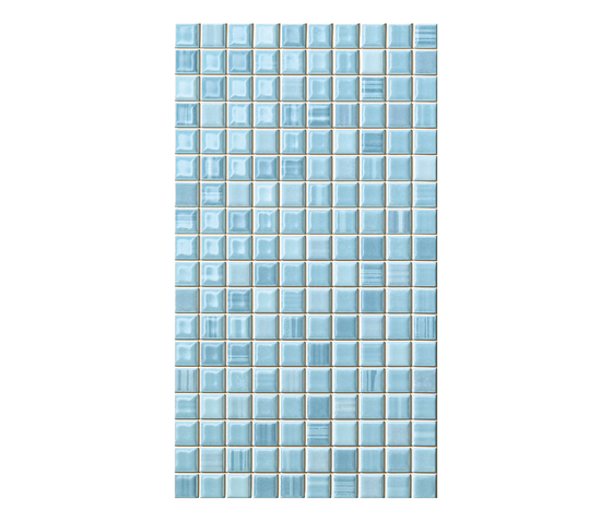 Pop Up Azure* by Fap Ceramiche | Ceramic mosaics