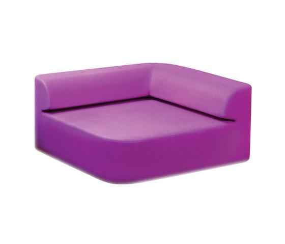 Quad Sofa by Tokio. Furniture & Lighting | Modular seating elements
