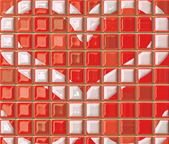 Pop Up Heart Red Inserto* de Fap Ceramiche | Mosaïques