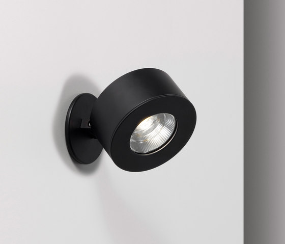 Favilla Recessed AP black by Axolight | Wall-mounted spotlights