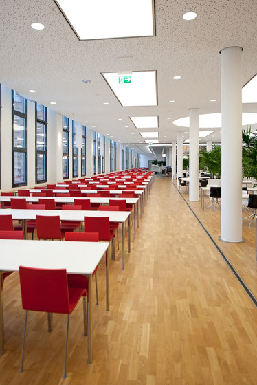 LIGNA raised floors by Lindner Group | Wood flooring