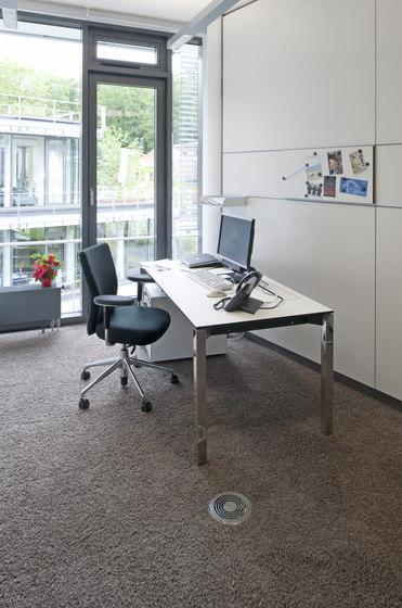 NORTEC raised floors by Lindner Group | Floor panels