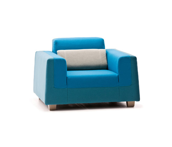 Mr. Softy von Diesel by Moroso | Sessel