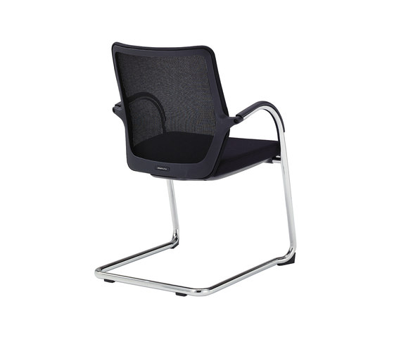 T1 meeting chair by Okamura | Visitors chairs / Side chairs