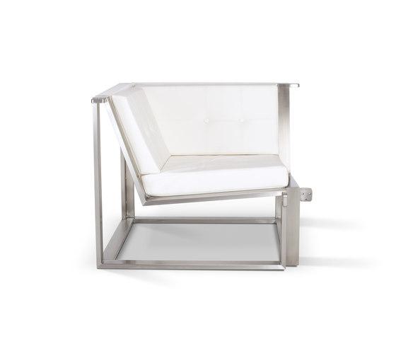 Cima Lounge Esquina by FueraDentro | Garden sofas