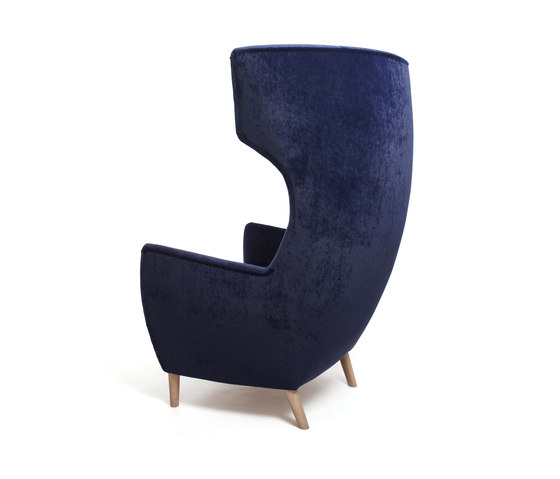 Hardy Wingback Chair by Dare Studio | Armchairs