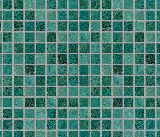 Si. Space Identity Mosaic Green by Tagina   Ceramic mosaics