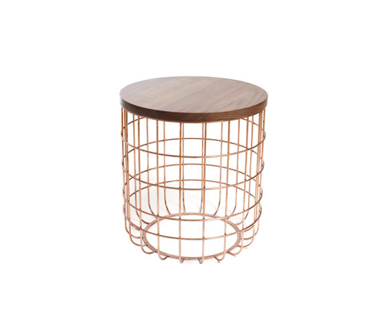 Wire Group Sidetable | Stool de Dare Studio | Tables d'appoint