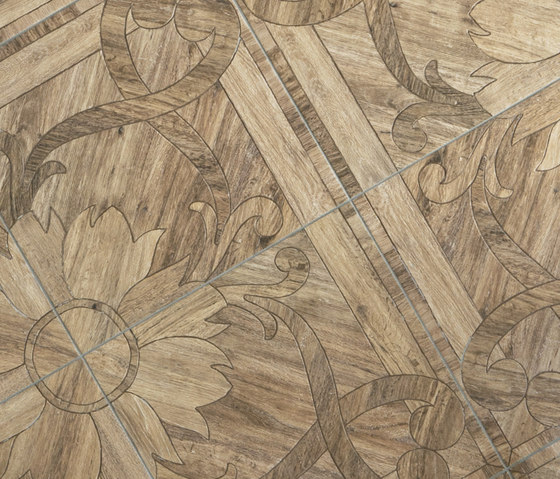 Woodays IN Composizione tappeto by Tagina | Wall tiles