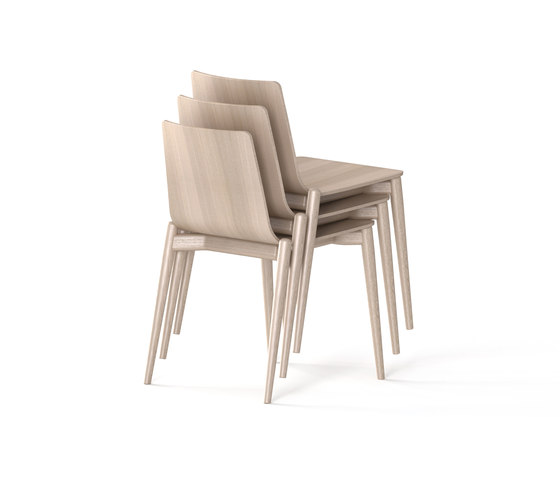 Malmö Chair 390 by PEDRALI | Restaurant chairs