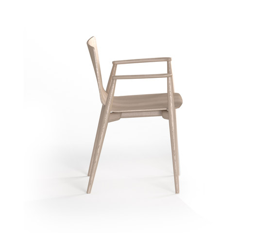 Malmö Armchair 395 by PEDRALI | Restaurant chairs