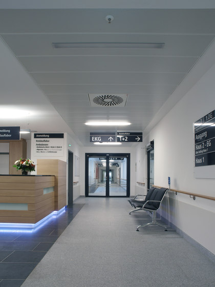 Fireproof ceilings by Lindner Group | Ceiling systems