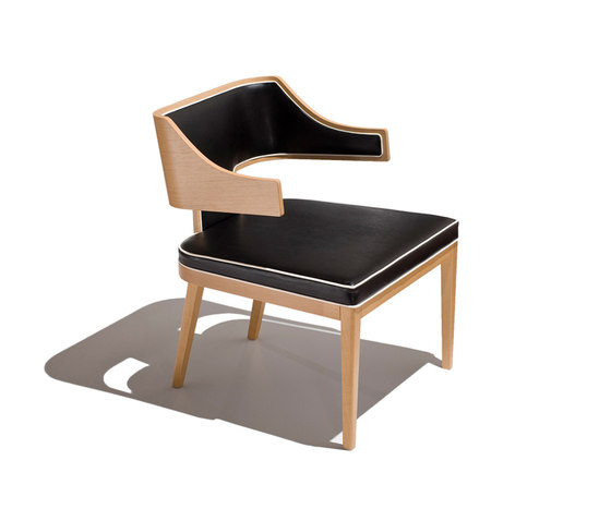 aries armchair low by Schönhuber Franchi | Multipurpose chairs