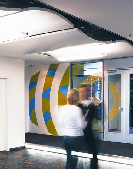Canopy ceilings by Lindner Group | Ceiling systems
