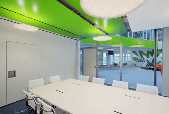 Canopy ceilings di Lindner Group | Sistemi soffitto