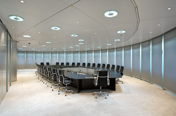 Hook-On|Corridor ceilings by Lindner Group | Ceiling systems