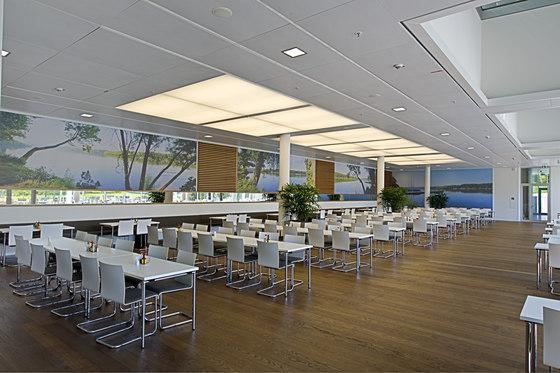Luminous ceilings by Lindner Group | Luminous walls