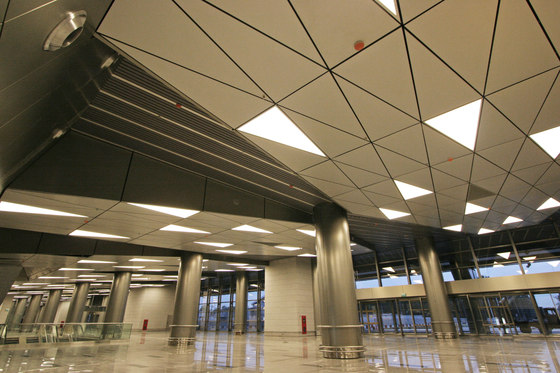 Customised ceilings de Lindner Group | Systèmes de plafond