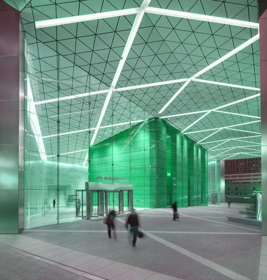 Customised ceilings de Lindner Group | Sistemas de techos