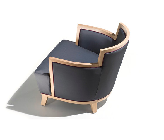churchill armchair by Schönhuber Franchi | Lounge chairs