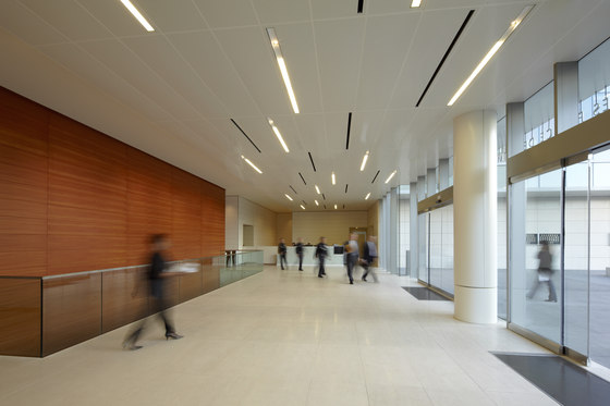 Torsion Spring by Lindner Group | Ceiling systems