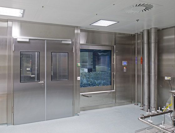 Clean Room Partitions by Lindner Group | Architectural systems