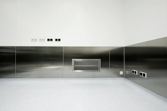 Reinraumwand von Lindner Group | Architektursyteme