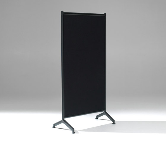 2be Mobile Floor Screen by Lintex | Notice boards