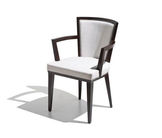 Churchill sedia imbottita con braccioli sedie multiuso sch nhuber franchi architonic - Sedia imbottita con braccioli ...