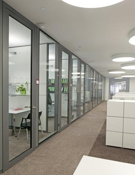 Life glass partition walls di Lindner Group | Pareti divisorie ufficio