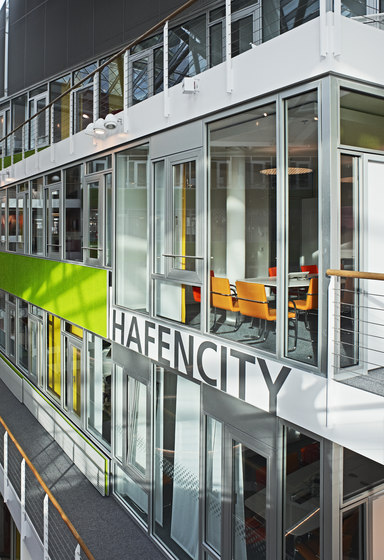 Life glass partition walls by Lindner Group | Partition wall systems