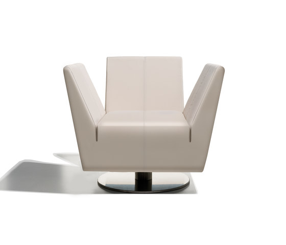 ribot collection armchair de Schönhuber Franchi | Fauteuils d'attente