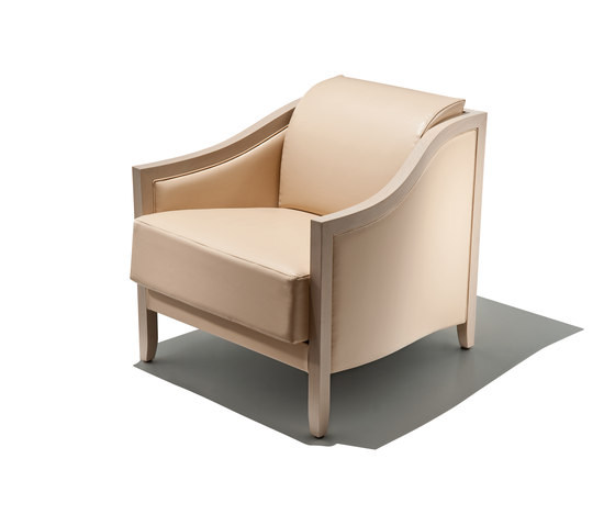 arthur armchair by Schönhuber Franchi | Lounge chairs